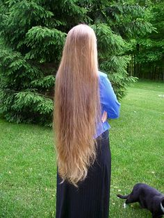 .long hair