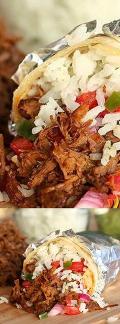 This Chipotle's Barbacoa Copycat Recipe from The Slow Roasted Italian is out of this world amazing! Tender seared beef slow cooked in a spectacular spicy adobo sauce!