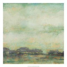 Treeline Sunrise I Premium Giclee Print by Jennifer Goldberger at Art.com