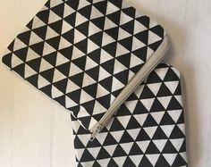 Triangles. Handmade Purse