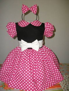 Vestidos Minnie Mouse
