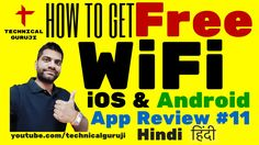 cool  How to Use Free WiFi Everywhere | Android, iOS App Review #11