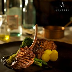 One of the many stars at Sevilla, The Degustation of Lamb is grilled to perfection and is every meat lovers delight!