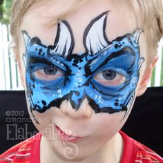 http://elaborateeyes.com/category/animal-face-painting-designs/