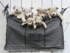 Boxzak Jeans Zwart