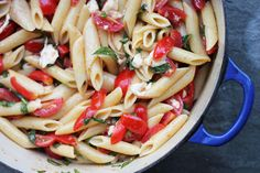 Penne With Marinated Tomatoes -> Yummy :-)