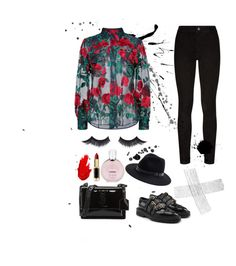 """""""Class"""" by derajotel on Polyvore featuring Yves Saint Laurent, Paige Denim, Burberry, Adam Selman, Sole Society, Chanel, Maybelline and L'Oréal Paris"""