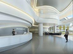 World of Architecture: Futuristic Sky SOHO by Zaha Hadid ...