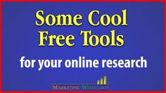 Some Essential Online Marketing Tools | Marketing with aref Some very handy free online marketing tools. Please click show more to check all the links below. Hear is the webinar replay https://www.youtube.com/watch?v=cBxAW...  The admission for my online marketing school is ongoing. Please check the link to learn more about it. আমর অনলইন মরকট সকল এ অযডমশন চলছ বসতরত জনত সইট ভজট করন  http://ift.tt/2n6ryTK  Get Your Marketing Tools Here: http://ift.tt/2w6Dmxl... Check the Webinar Reply in this…