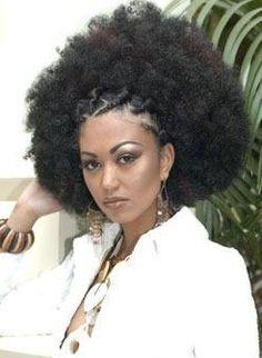 Stylish Afro