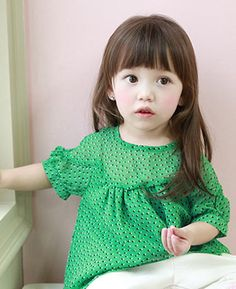 ANNIKA / Spring Summer 2013 Collection -- pretty much only pinning cause my name is thr first word here lol Fashion Kids, Little Fashion, Fashion Top, Cute Little Girls, Cute Kids, Kids Girls, Baby Kids, Asian Babies, Toddler Hair