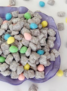 Reese's Easter Egg Puppy Chow #Recipe #Easter #Spring #Treat #Snack