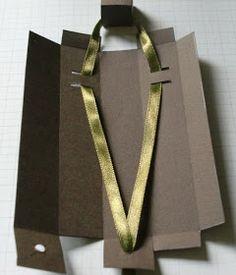 {Bellas} Papierträume: {Anleitung} für die Ziehverpackung