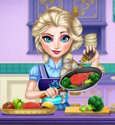 Elsa Real Cooking http://www.game247.org/play/Elsa_real_cooking