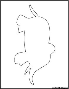 Elephant Outline Coloring Page Elephant Outline, Aboriginal Art, Zentangles, Kid Stuff, Coloring Pages, Projects To Try, Craft Ideas, Shapes, Crafty