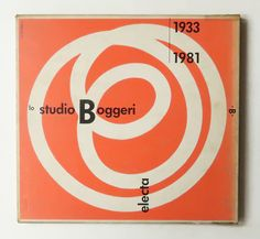 Lo Studio Boggeri 1933-1981 (Pagina series)