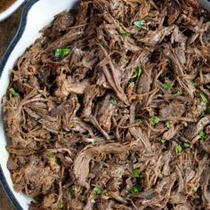 Popeye's Cole Slaw Recipe (Perfect Copycat!) - Dinner, then Dessert Chuck Roast Recipes, Beef Chuck Roast, Beef Recipes, Chipotle Recipes, Shrimp Recipes, Easy Recipes, Chicken Recipes, Pizza Hut, Gastronomia