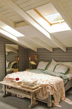 attic guest bedroom