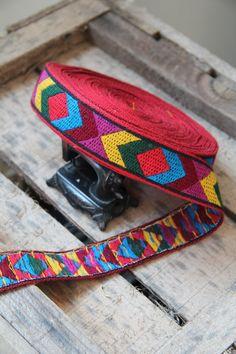 1970's Vintage woven jacquard ribbon trim with by RubanRuban