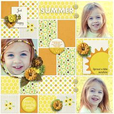 Pickleberrypop :: Collaborative Kits :: Spread a Little Sunshine, a Pickled Pairs Collab Kit