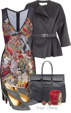 """Arellanas at work"" by madamedeveria ❤ liked on Polyvore"