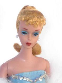 4 Ponytail Vintage 1960 Barbie Blonde   eBay