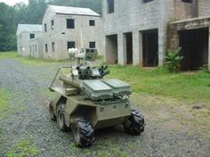 Gladiator Tactical Unmanned Ground Vehicle | The Gladiator: US Marines' Unmanned Ground Vehicle
