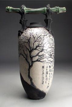 Michael W Moses Pottery: The Fantastic Ceramic Art Pottery of Mitchell Grafton of Panama City, FL