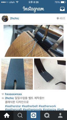 일일수업용 벨트 제작중!!! 클래식한 디자인으로  #leatherstar #leatherbelt #leatherwork #leathercraft #leathergoods #instasize #belt #handmade #handwork #handcraft #가죽공예 #공예 #일일수업 #일일체험 #주문제작 #벨트 #핸드메이드 #2hchic  LeatherStar 2HCHIC