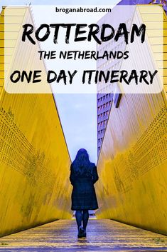 The best itinerary for one day in Rotterdam, The Netherlands. What to do and what to see in Rotterdam in one day if you are short of time or are visiting on a day trip. Europe Destinations, Europe Travel Guide, Travel Guides, Travelling Europe, Amazing Destinations, Holiday Destinations, Rotterdam Netherlands, Travel Netherlands, Rotterdam Port