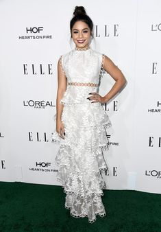 Actress Vanessa Hudgens attends the 23rd Annual ELLE Women In Hollywood Awards at Four Seasons Hotel Los Angeles at Beverly Hills on October 24, 2016 in Los Angeles, California.