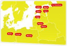 Baltics - www.simpleexpress.eu Map, Simple, Cards, Maps