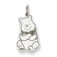 Sterling Silver Disney Winnie the Pooh Charm WD180SS