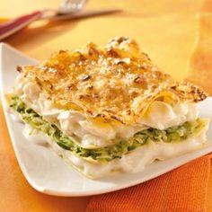 Lasagnes aux courgettes et au fromage de chèvre © Gloria®
