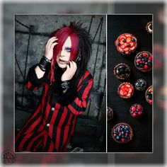 Asia Comparison:re ( Visual Kei, Asia, People, Color, Instagram, Style, Swag, Colour, People Illustration