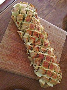 Knoblauch-Käse-Ciabatta                                                       …