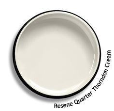 Resene Quarter Thorndon Cream is a clean sharp and fresh variant. From the Resene Whites & Neutrals colour collection. Try a Resene testpot or view a physical sample at your Resene ColorShop or Reseller before making your final colour choice. www.resene.co.nz