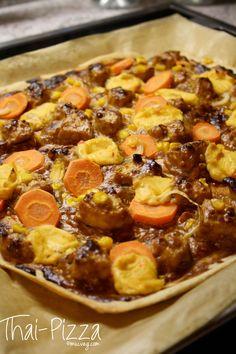thai-pizza (recipe by vegan junkfood)