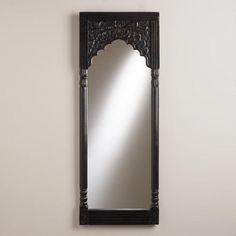 One of my favorite discoveries at WorldMarket.com: Espresso Satara Mirror