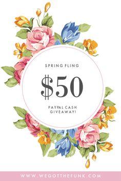 Paypal Cash Giveaway, Paypal giveaway 2019, Paypal Giveaway April 2019 Spring Is Here, Crafts For Kids, Invitations, Resolutions, Giveaways, Work Hard, Printables, Hacks, Goals