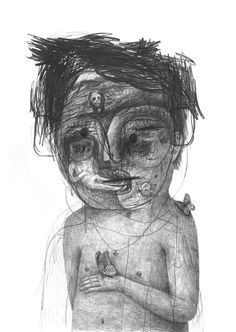 Drawings 2013 part 4 by Stefan Zsaitsits, via Behance