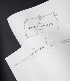 saint james paris hotel & club - Aaron Garza Design