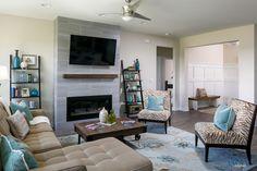 Tamarack C2 Elevation - Living Room - Brookstone - Newburgh, IN