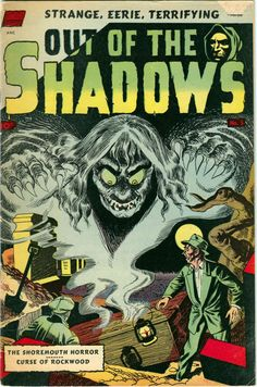 Comic Book Cover For Out of the Shadows #5