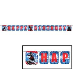 Avengers Party Decorations - Avengers Birthday Banner - Marvel Super Hero Decorations $1.89 (save $2.30)