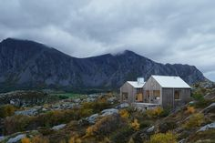 Contemporary Norway Island Home Sculpted Within a Harsh Terrain