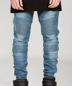 EU/US Skinny Stylish Men Jeans