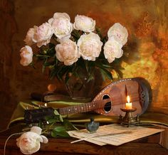 Still life with pions and lute by Andrey Morozov on 500px