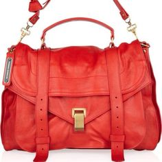 Proenza Schouler tomato red PS1