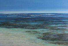 Ann Steer - Gnarloo Reef Break - Painting - Pastel - Sea - Ocean